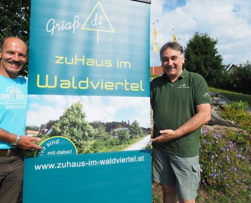 Eduard Fröschl, Peter Keller - zuHaus im Waldviertel - wohnen in schönbach