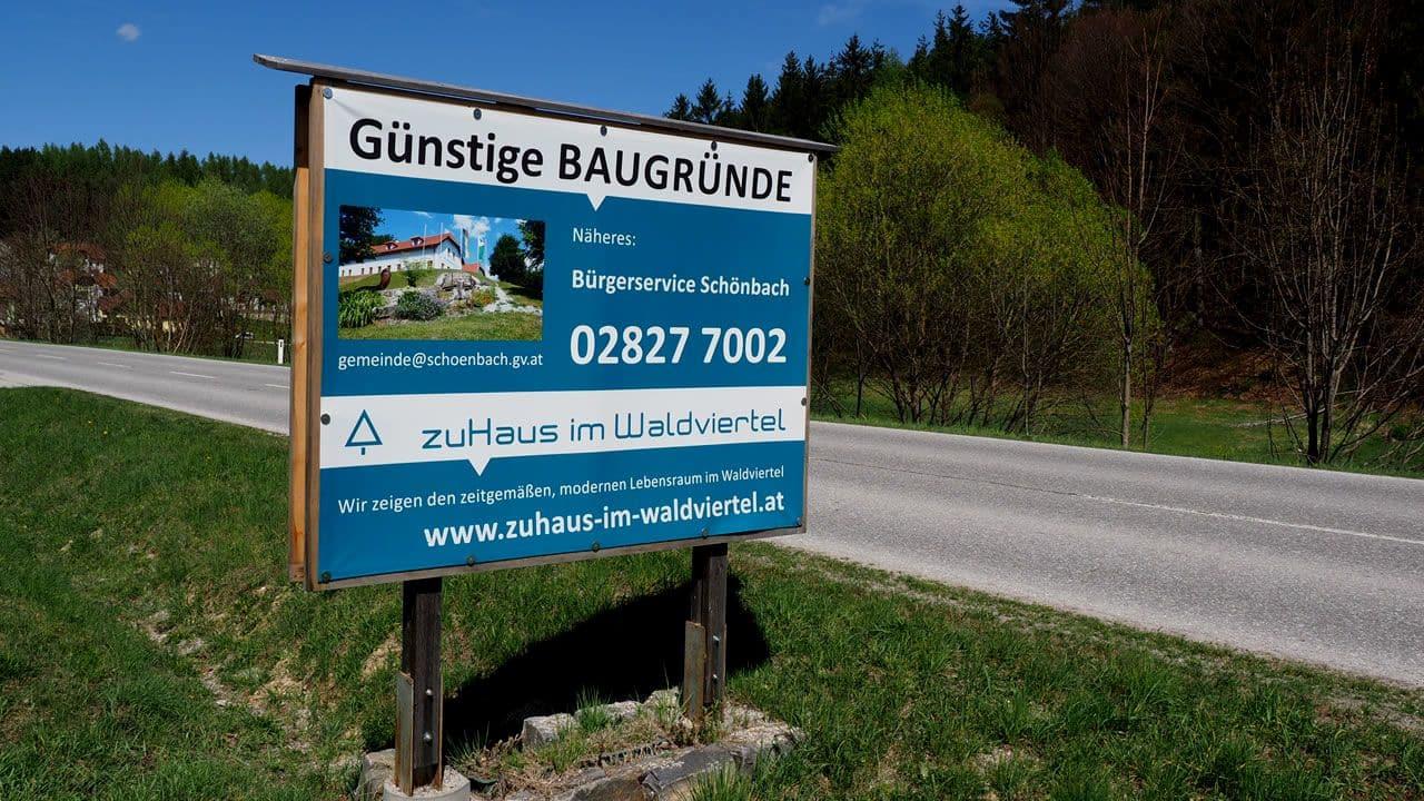 Wohnen in Schönbach im Waldviertel
