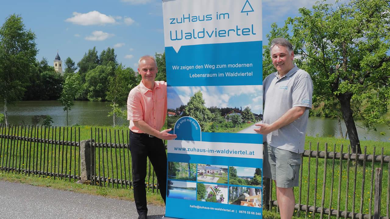 Andreas Kozar, Peter Keller zuHaus im Waldviertel - wohnen in Reingers