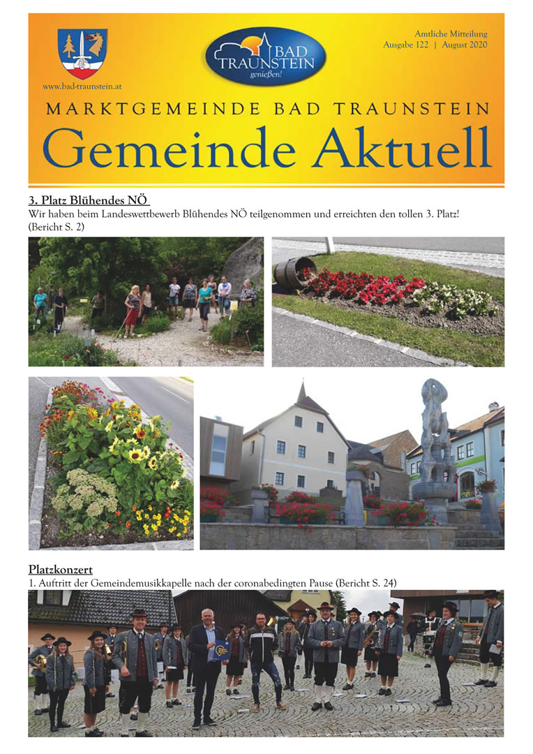bürgerumfrage gemeindezeitung waldviertel bad traunstein