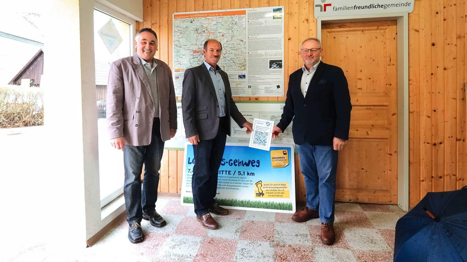 Schönbach Connect wohnen Waldviertel QR-Code