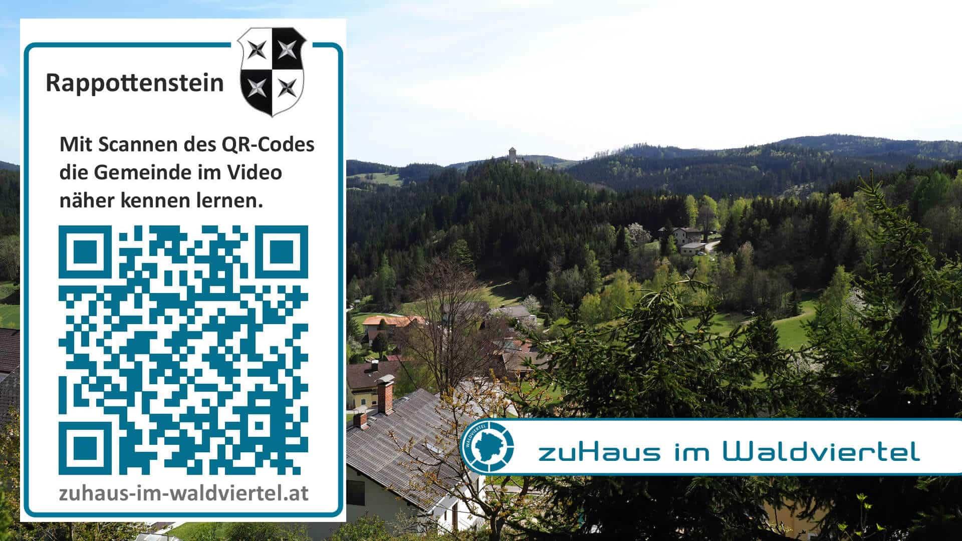 QR Code Projekt Connect Rappottenstein
